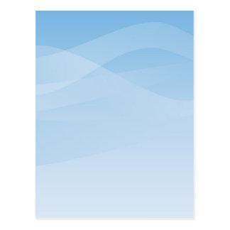 Blue Sky Background Postcard