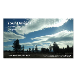 Blue Sky Business Cards