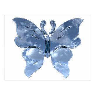 Blue Sky Butterfly Postcards