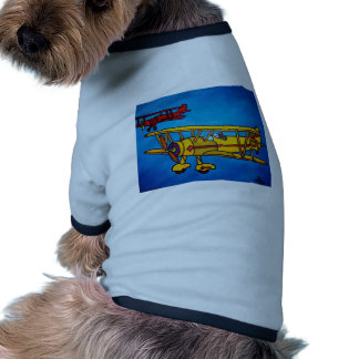 Blue Sky by Piliero Dog T Shirt