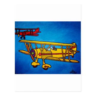 Blue Sky by Piliero Postcard