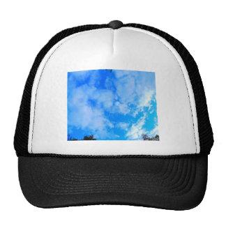 blue sky. cap