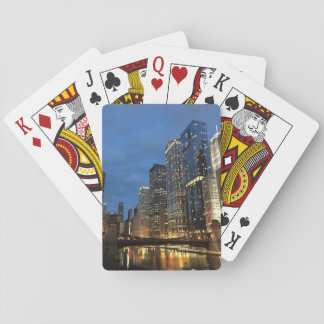 Blue Sky Chicago Deck of Playing Cards