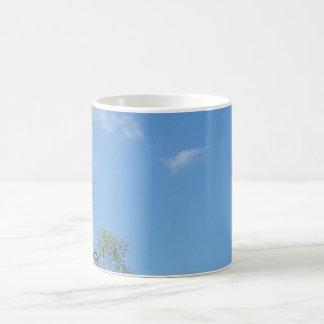 Blue sky coffee mug