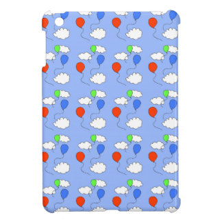 blue sky, free balloons cover for the iPad mini