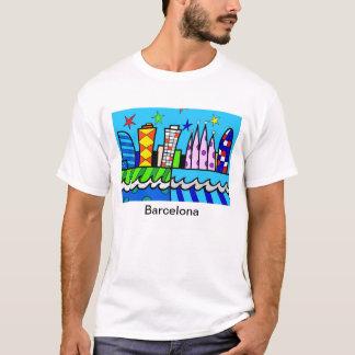 Blue sky fun from Barcelona T-Shirt