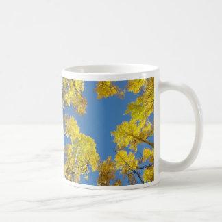 Blue Sky, Golden Aspens Mug