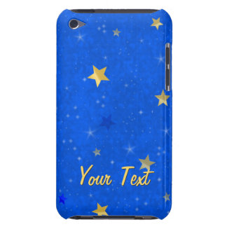 Blue Sky Golden Stars Barely There iPod Cover