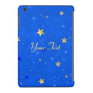 Blue Sky Golden Stars iPad Mini Cover