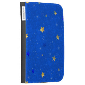 Blue Sky Golden Stars Kindle Covers