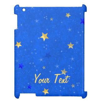 Blue Sky Golden Stars iPad Covers