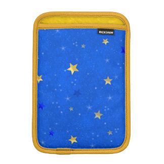 Blue Sky Golden Stars iPad Mini Sleeve