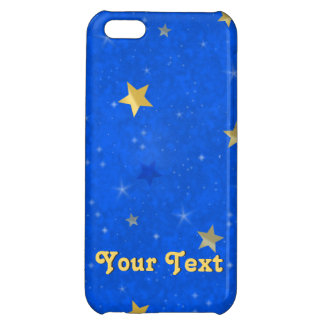 Blue Sky Golden Stars iPhone 5C Cover