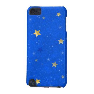 Blue Sky Golden Stars iPod Touch 5G Cases