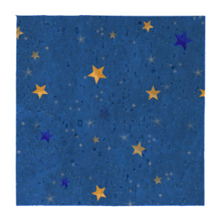 Blue Sky Golden Stars Coasters