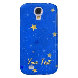 Blue Sky Golden Stars Samsung Galaxy S4 Cover