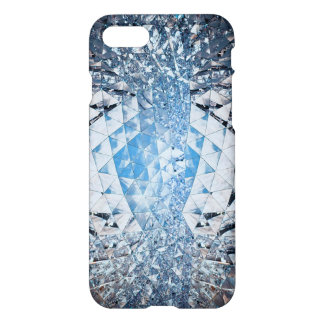 Blue Sky in Crystals iPhone 7 Case