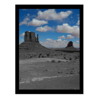 Blue Sky over Monument Valley Postcard