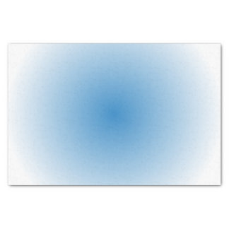 Blue Sky Radial Gradient Tissue Paper