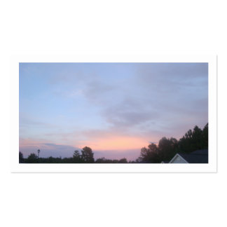 Blue Sky Sun Set Business Cards
