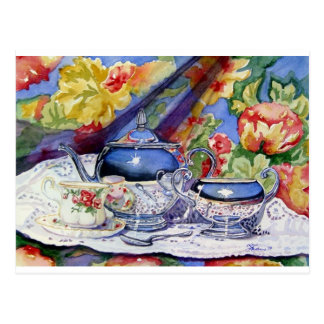 Blue Sky Tea Postcard