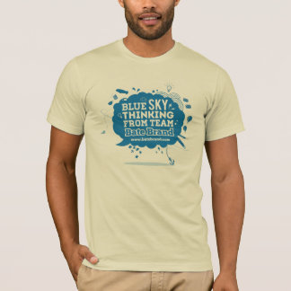 Blue Sky Thinking t-shirt from Bate Brand
