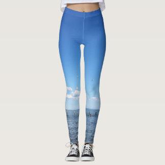 Blue Sky & Water - leggins Leggings