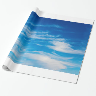 Blue Sky White Clouds Heavenly Cloud Background