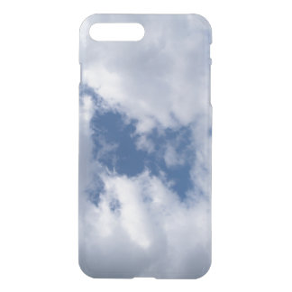 Blue Sky & White Clouds on a Spring Day iPhone 7 Plus Case