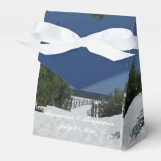 Blue Sky ~ White Sand Favor Box