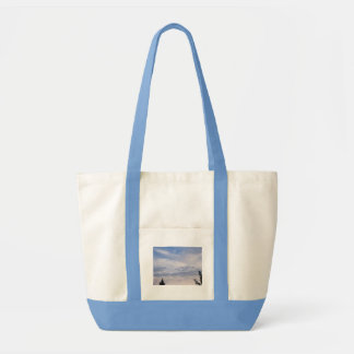 Blue Sky with Clouds Bag