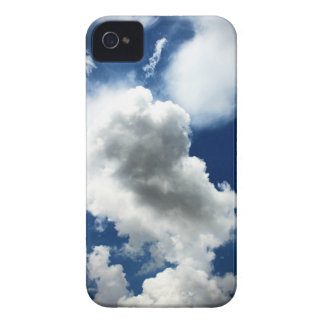 Blue Sky with Clouds iPhone 4 Case-Mate Case