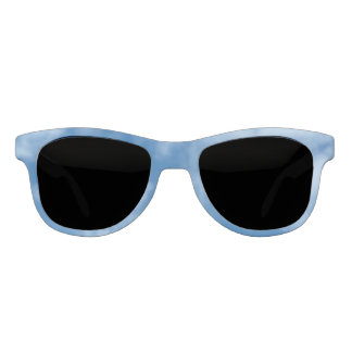 Blue Sky with Clouds Photo Sunglasses