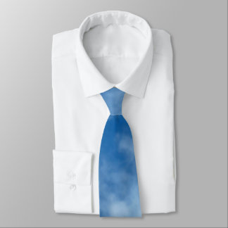 Blue Sky with Clouds Tie