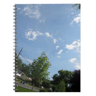 Blue SKYview Sky CherryHILL America Gifts NVN684 f Spiral Note Books