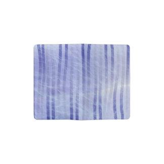 Blue Smoke and Fade Pocket Moleskine Notebook