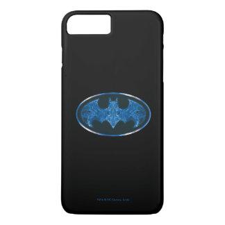 Blue Smoke Bat Symbol 2 iPhone 8 Plus/7 Plus Case