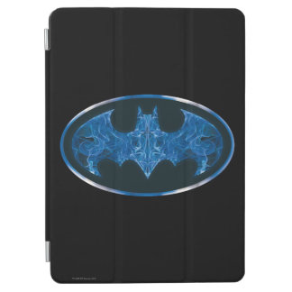 Blue Smoke Bat Symbol iPad Air Cover