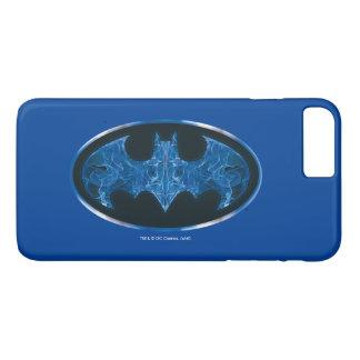 Blue Smoke Bat Symbol iPhone 7 Plus Case