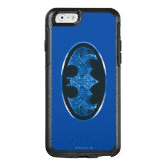 Blue Smoke Bat Symbol OtterBox iPhone 6/6s Case