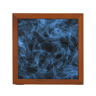 Blue Smoke Desk Organiser