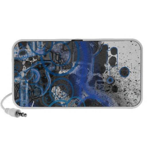 Blue Smoke Notebook Speaker
