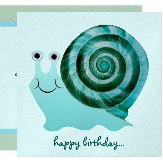 Blue Snail Card