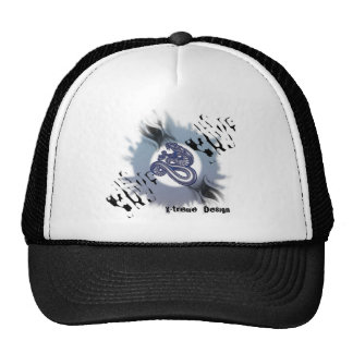 Blue Snake Trucker Hats