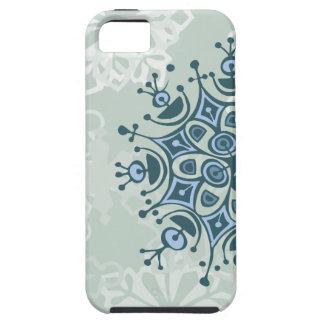 Blue Snowflake iPhone 5 Case