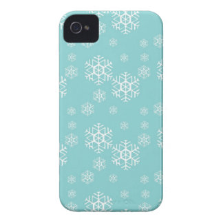 Blue Snowflakes BlackBerry Bold Case Mate Covers
