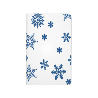 Blue Snowflakes Journal