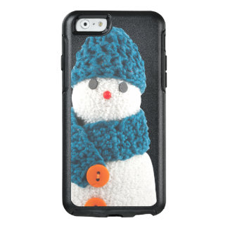 Blue Snowman OtterBox iPhone 6/6s Case