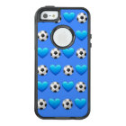 Blue Soccer Ball Emoji iPhone SE/5/5s Otterbox