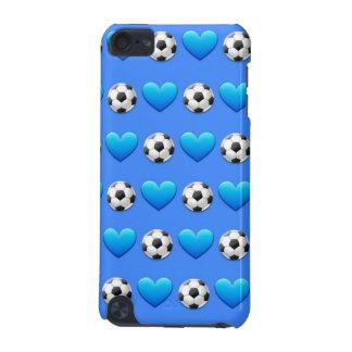 Blue Soccer Ball iPod 5 Case